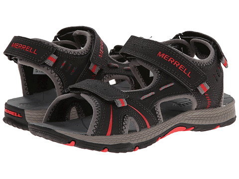 Merrell Kids - Panther (Big Kid) (Black/Red) Boys Shoes