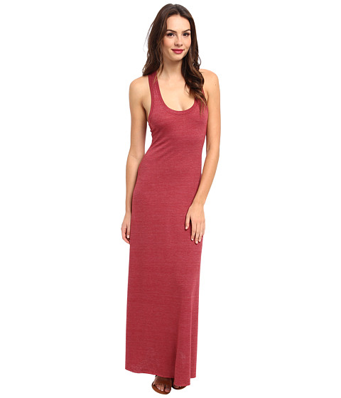 Alternative - Racerback Maxi Dress (Eco True Redwood) Women