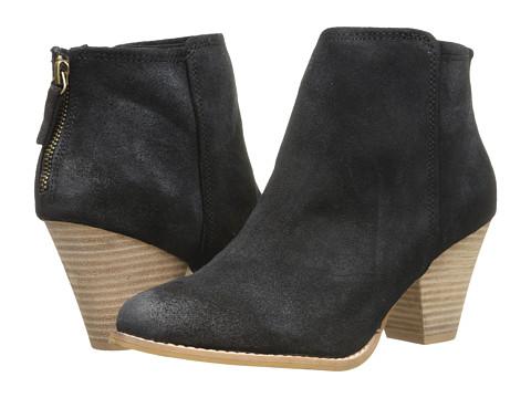 Splendid - Roland (Black Suede) Women's Zip Boots
