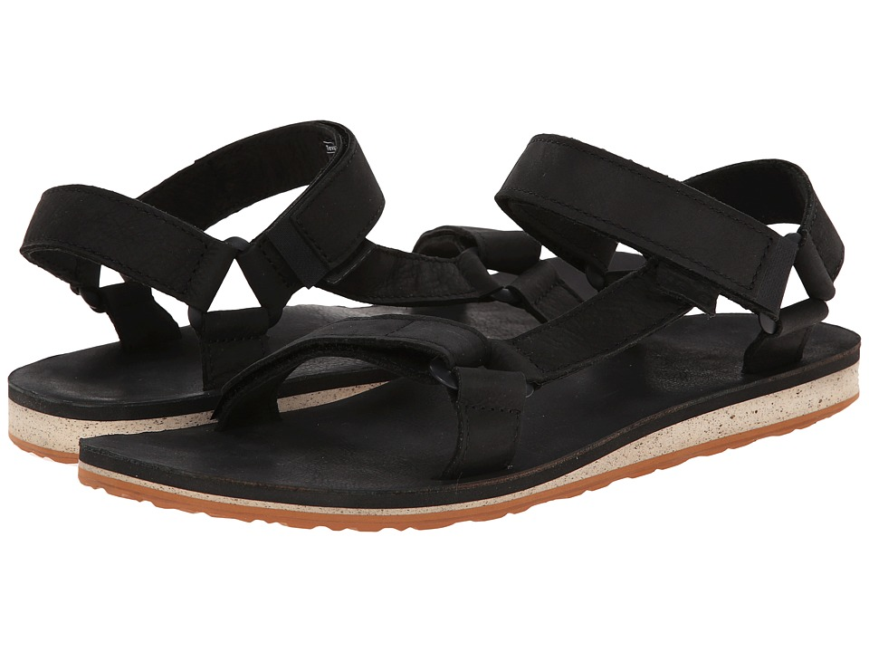 Teva - Original Universal Premium Leather (Black) Men's Sandals