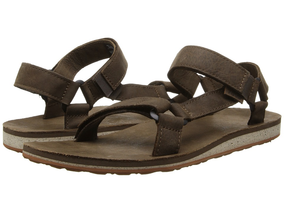 Teva - Original Universal Premium Leather (Dark Earth) Men's Sandals