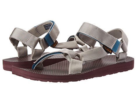 Teva - Original Universal Woolrich (Grey) Men's Sandals