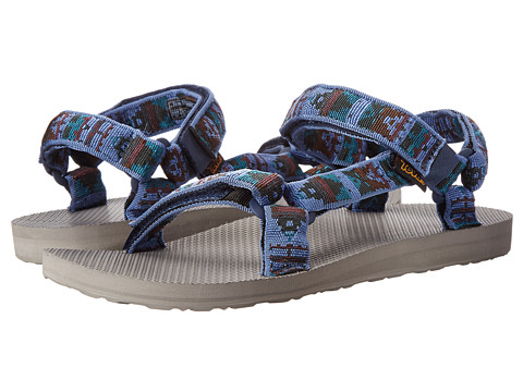 Teva - Original Universal Woolrich (Olmec Blue) Men's Sandals