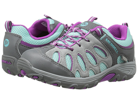 Merrell Kids - Chameleon Low Lace Waterproof (Little Kid) (Blue/Purple) Girls Shoes