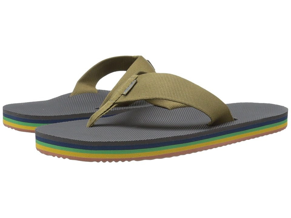 Teva - Deckers Flip (Eiffel Tower Rainbow) Men's Sandals
