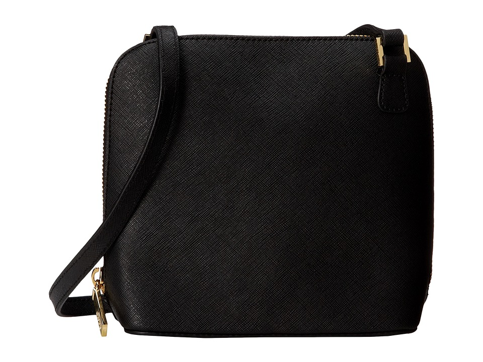 Hobo - Camilla (Black Saffiano) Cross Body Handbags