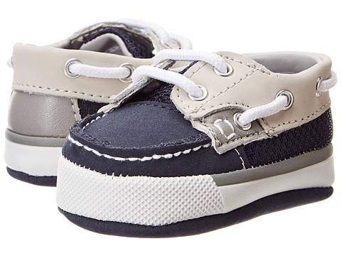 Baby Deer - Deck Shoe (Infant) (Navy Nubuck) Boys Shoes