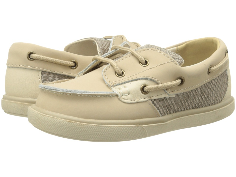 Baby Deer - Deck Shoe (Infant/Toddler) (Tan Nubuck) Boy