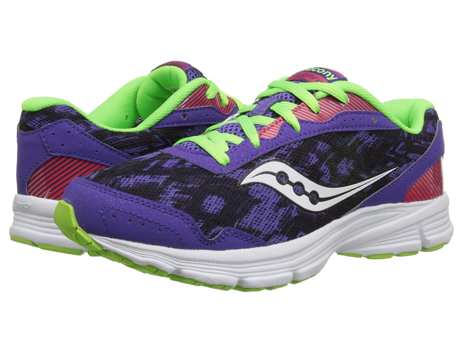 Saucony Sapphire (Purple/Slime/Red) Women