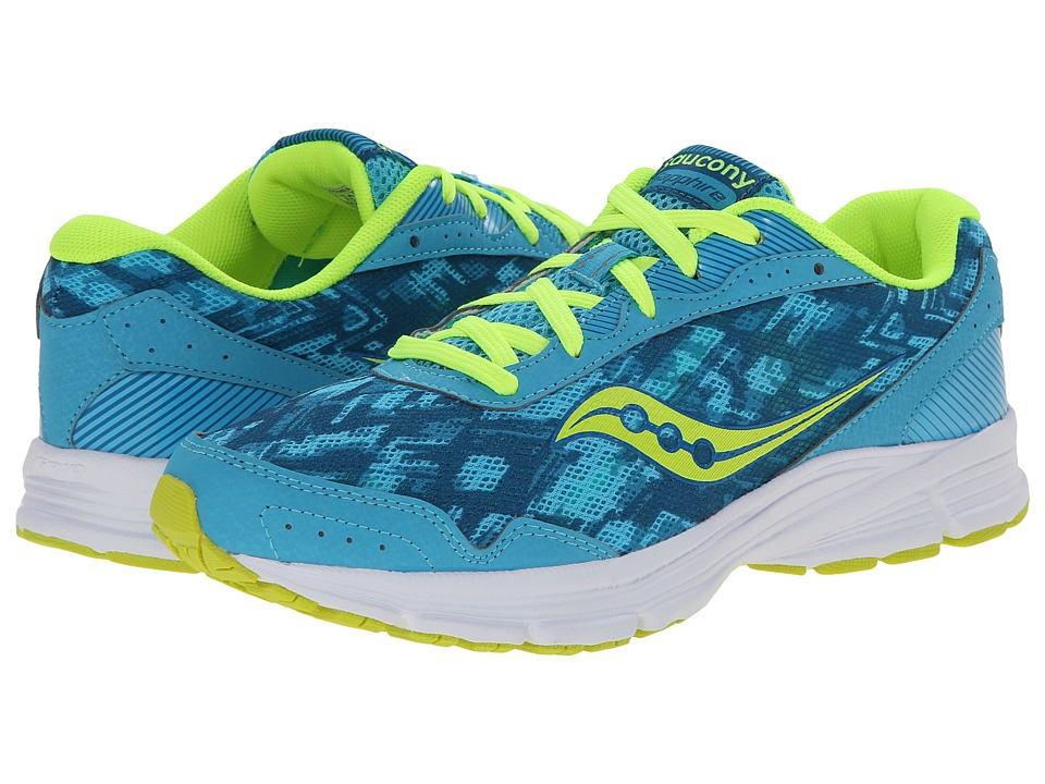 Saucony - Sapphire (Blue/Navy/Citron) Women's Running Shoes