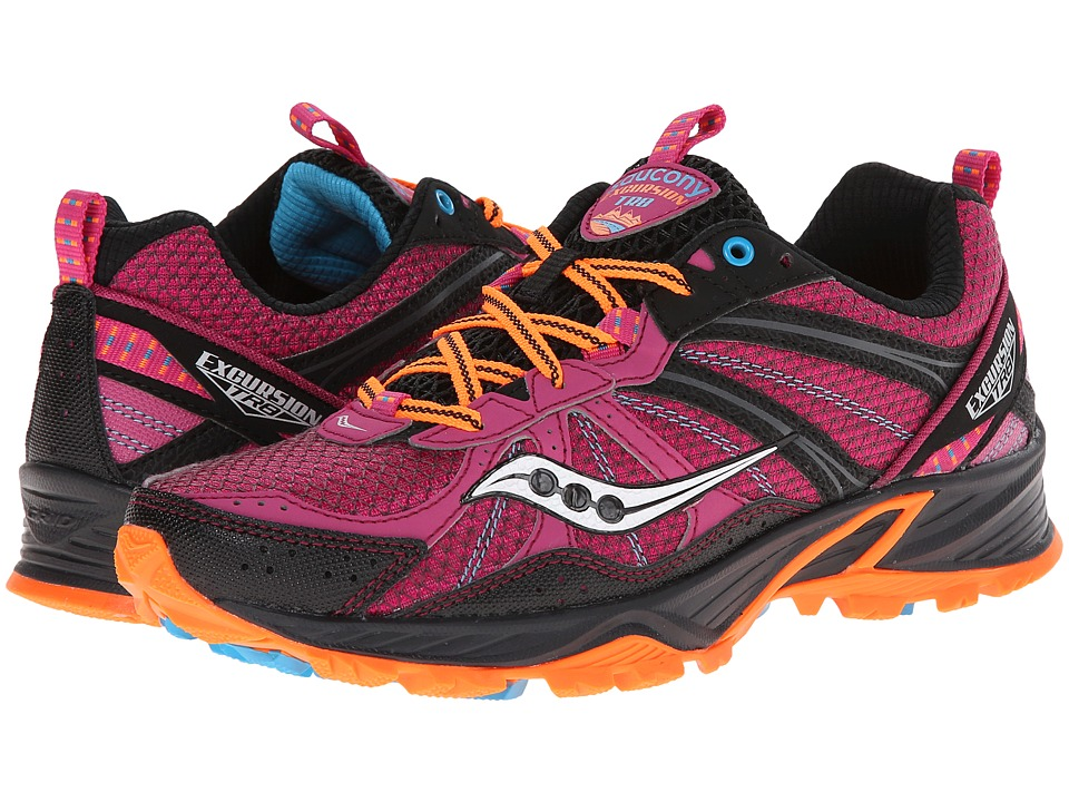 Saucony - Grid Excursion TR8 (Fuchsia/Black/Orange) Women
