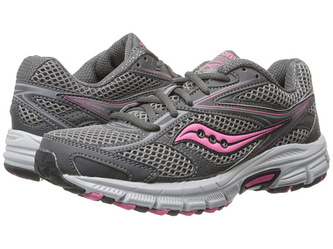 Saucony - Cohesion TR8 (Grey/Pink) Women's Running Shoes