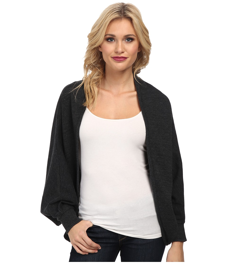 Alternative - Light French Terry Cocoon Wrap (True Black) Women
