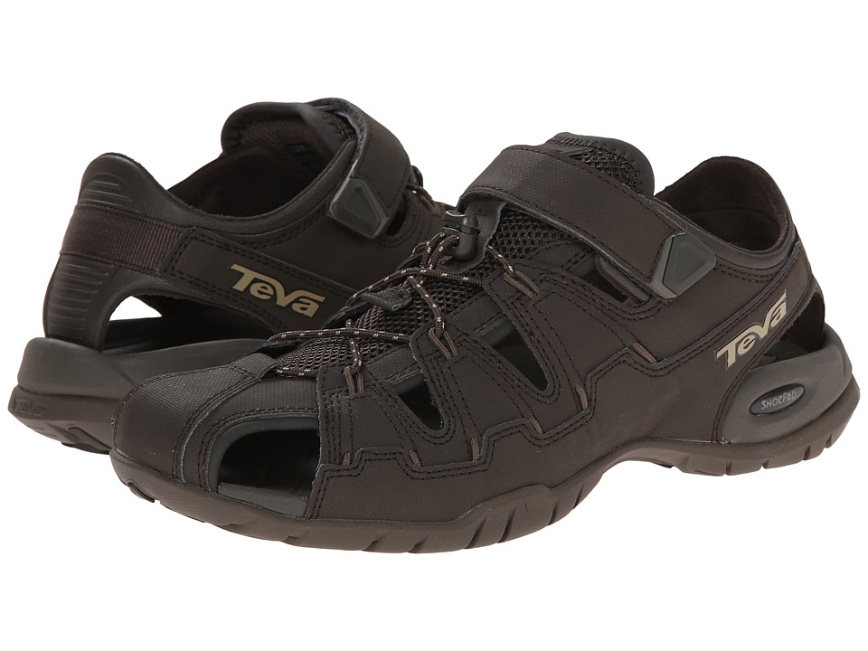 Teva - Dozer 4 (Black Olive) Men's Shoes