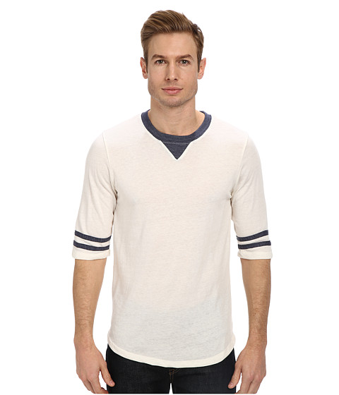 Alternative - Eco-Jersey Football Tee (Eco Ivory) Men's T Shirt