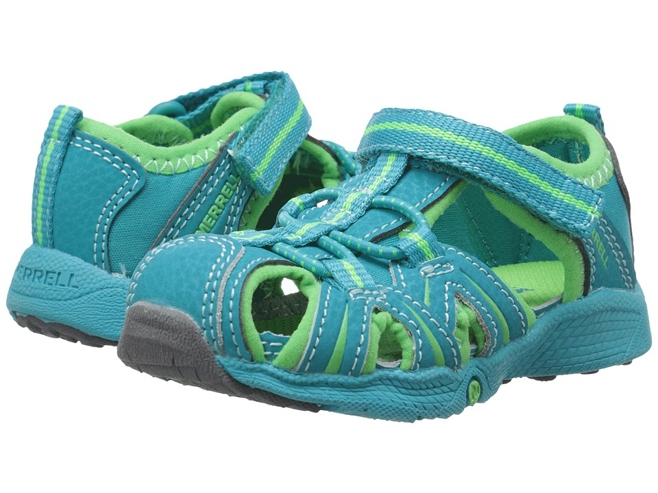 Merrell Kids - Hydro Junior (Toddler) (Turquoise/Green) Girls Shoes