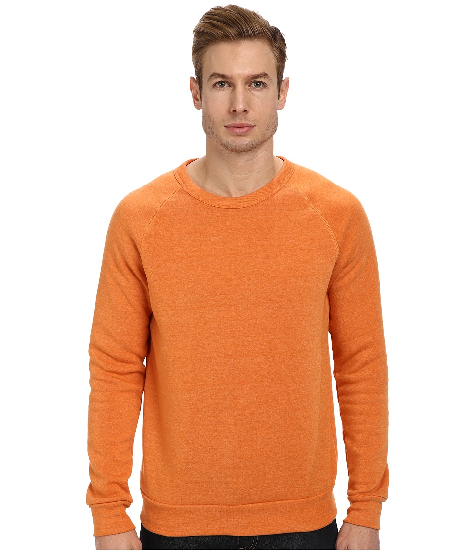 Alternative - Champ Eco Fleece Sweatshirt (Eco True Burnt Orange) Men's Long Sleeve Pullover