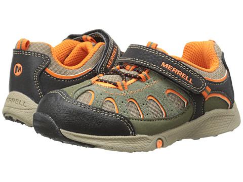 Merrell Kids - Chameleon A/C Junior (Toddler) (Olive/Orange) Boys Shoes