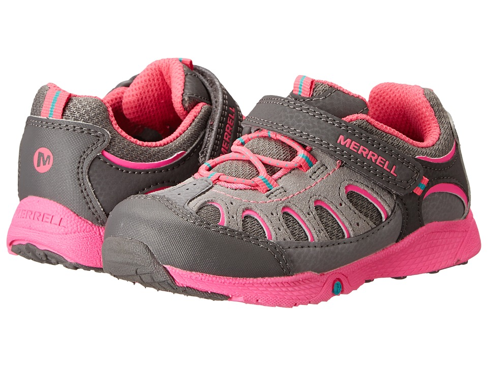 Merrell Kids - Chameleon A/C Junior (Toddler) (Grey/Pink) Girls Shoes