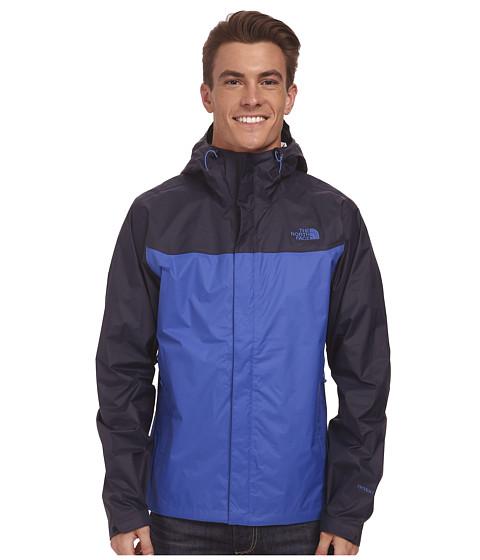 The North Face - Venture Jacket (Monster Blue/Outer Space Blue) Men's Jacket