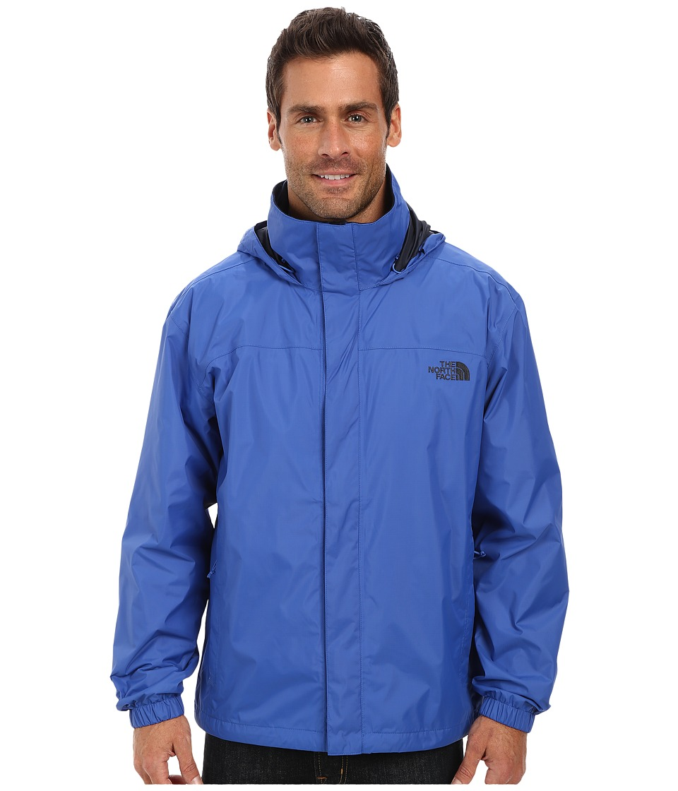 The North Face - Resolve Jacket (Monster Blue/Outer Space Blue) Men's Sweatshirt