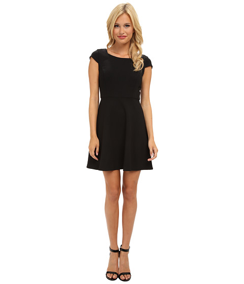 French Connection - Whisper Ruth 71CJS (Black) Women's Clothing