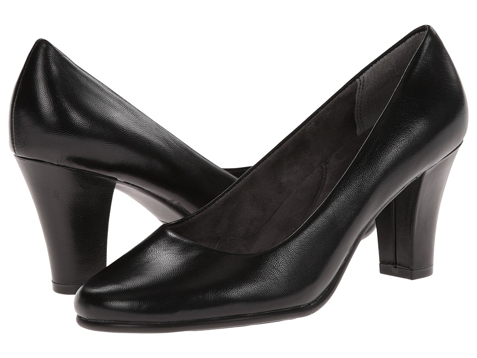 Aerosoles - Dolled Up (Black Leather) Women's Shoes