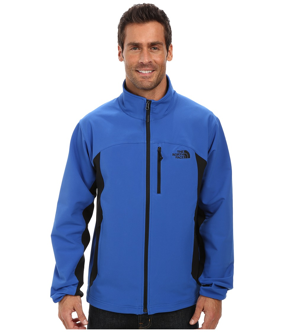 The North Face - Pneumatic Jacket (Monster Blue/TNF Black) Men's Coat