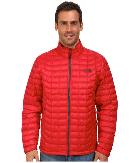 The North Face - ThermoBall Full Zip Jacket (TNF Red) Men