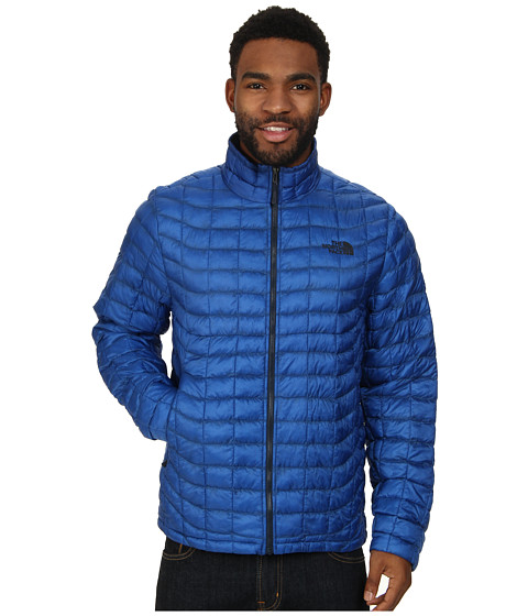 The North Face - ThermoBall Full Zip Jacket (Monster Blue) Men's Coat