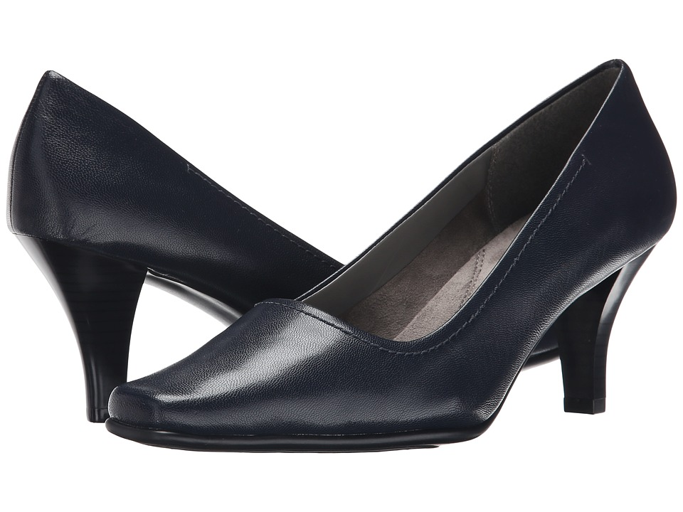 Aerosoles - Envy (Dark Blue Leather) High Heels