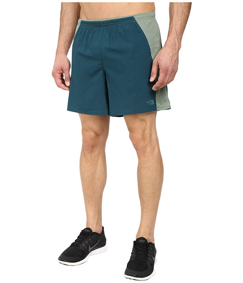 The North Face - Better Than Naked Short 7 (Deep Teal Green/Laurel Wreath Green) Men's Shorts