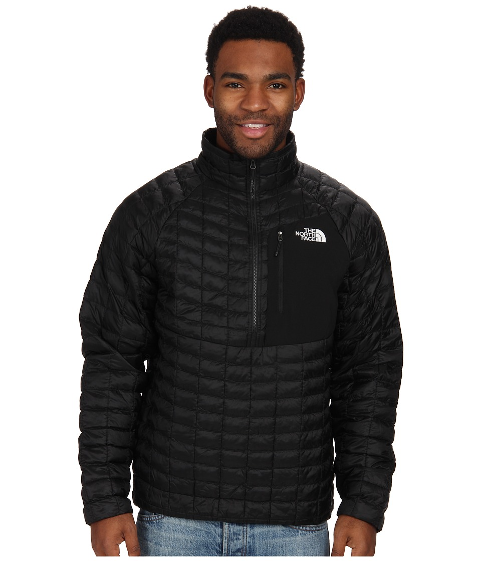 The North Face - ThermoBall Pullover (TNF Black) Men's Coat