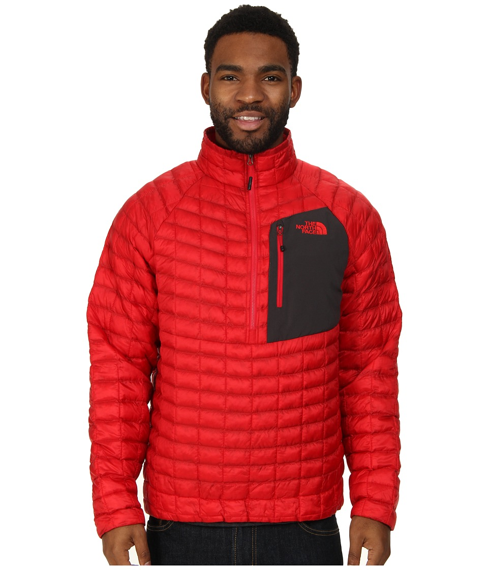 The North Face - ThermoBall Pullover (TNF Red) Men's Coat