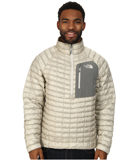 The North Face - ThermoBall Pullover (Moonstruck Grey) Men