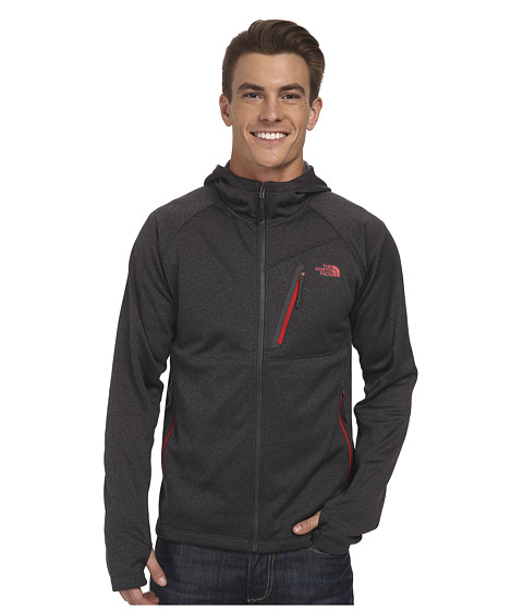The North Face - Canyonlands Full Zip Jacket (Asphalt Grey Heather) Men's Jacket