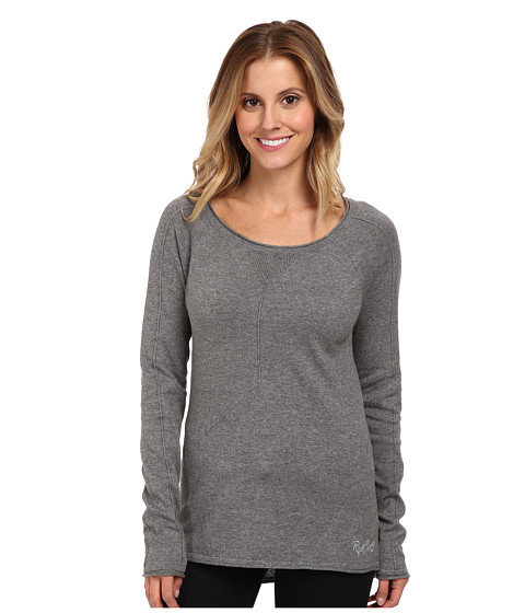 Rip Curl - Canyonside Sweater (Grey Heather) Women's Long Sleeve Pullover