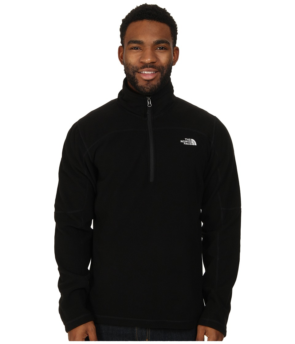 The North Face - Texture Cap Rock 1/4 Zip (TNF Black) Men