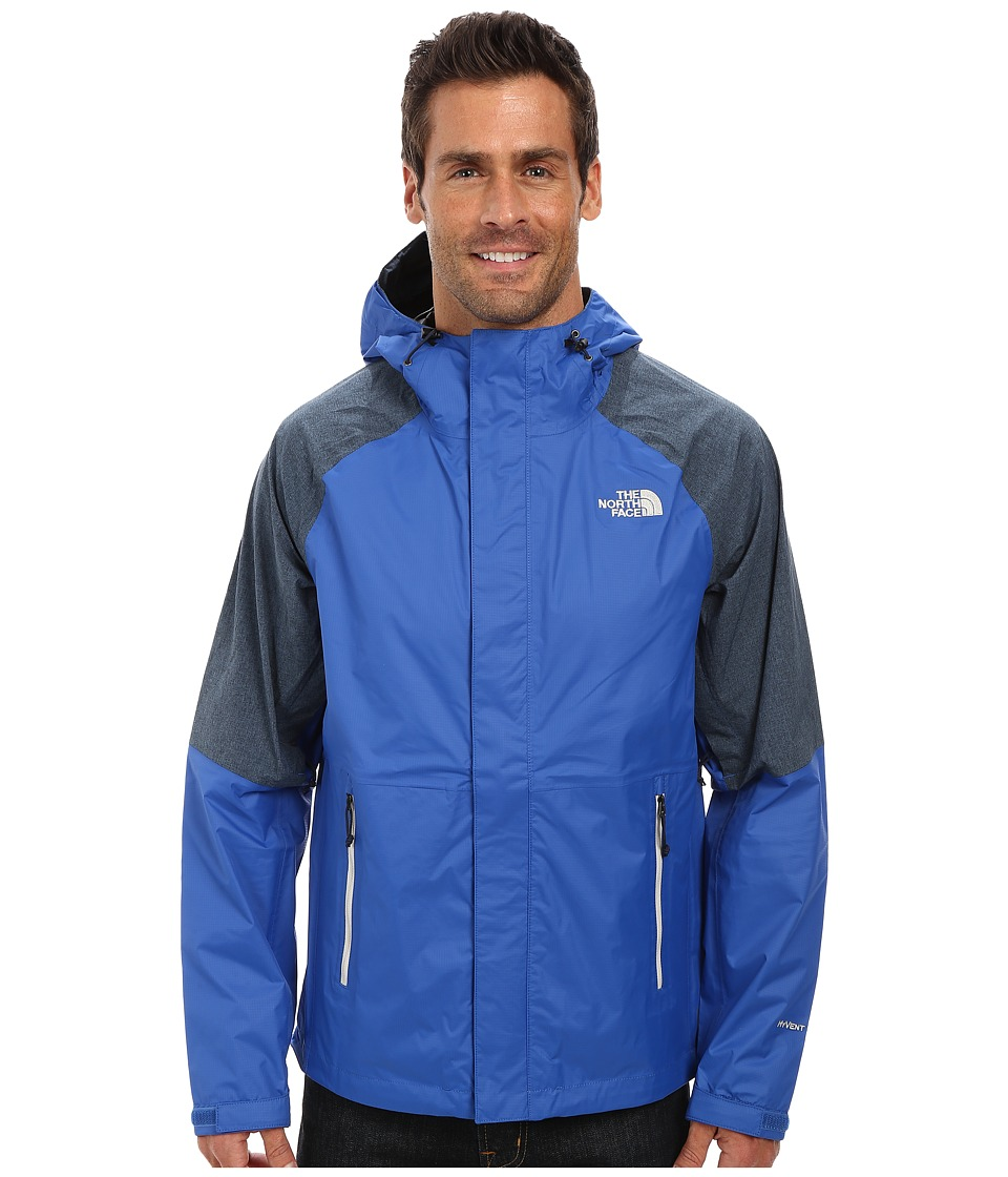The North Face - Venture Hybrid Jacket (Monster Blue/Outer Space Blue Heather) Men's Coat