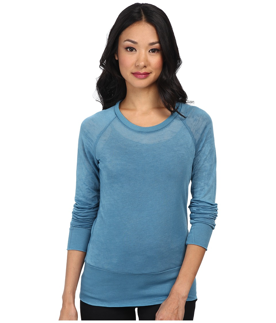 Alternative - Basic Raglan Top (Blue Coral) Women
