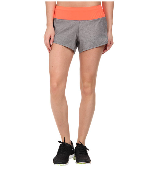The North Face - MA-X Short (Sedona Sage Grey Heather/Fiery Coral) Women