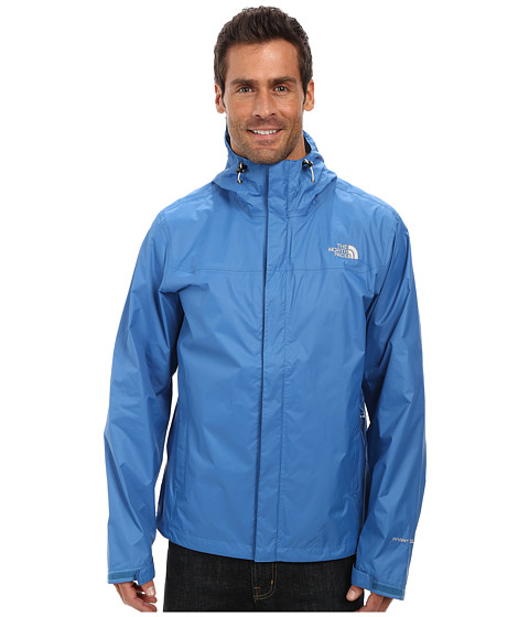 The North Face - Venture Jacket (Heron Blue/Heron Blue) Men's Jacket