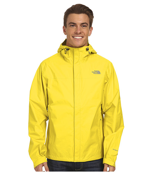 The North Face - Venture Jacket (Acid Yellow/Acid Yellow) Men