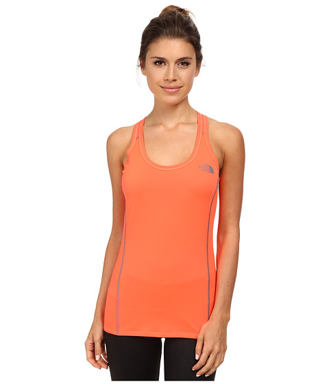 The North Face - MA-X Tank (Fiery Coral) Women's Sleeveless