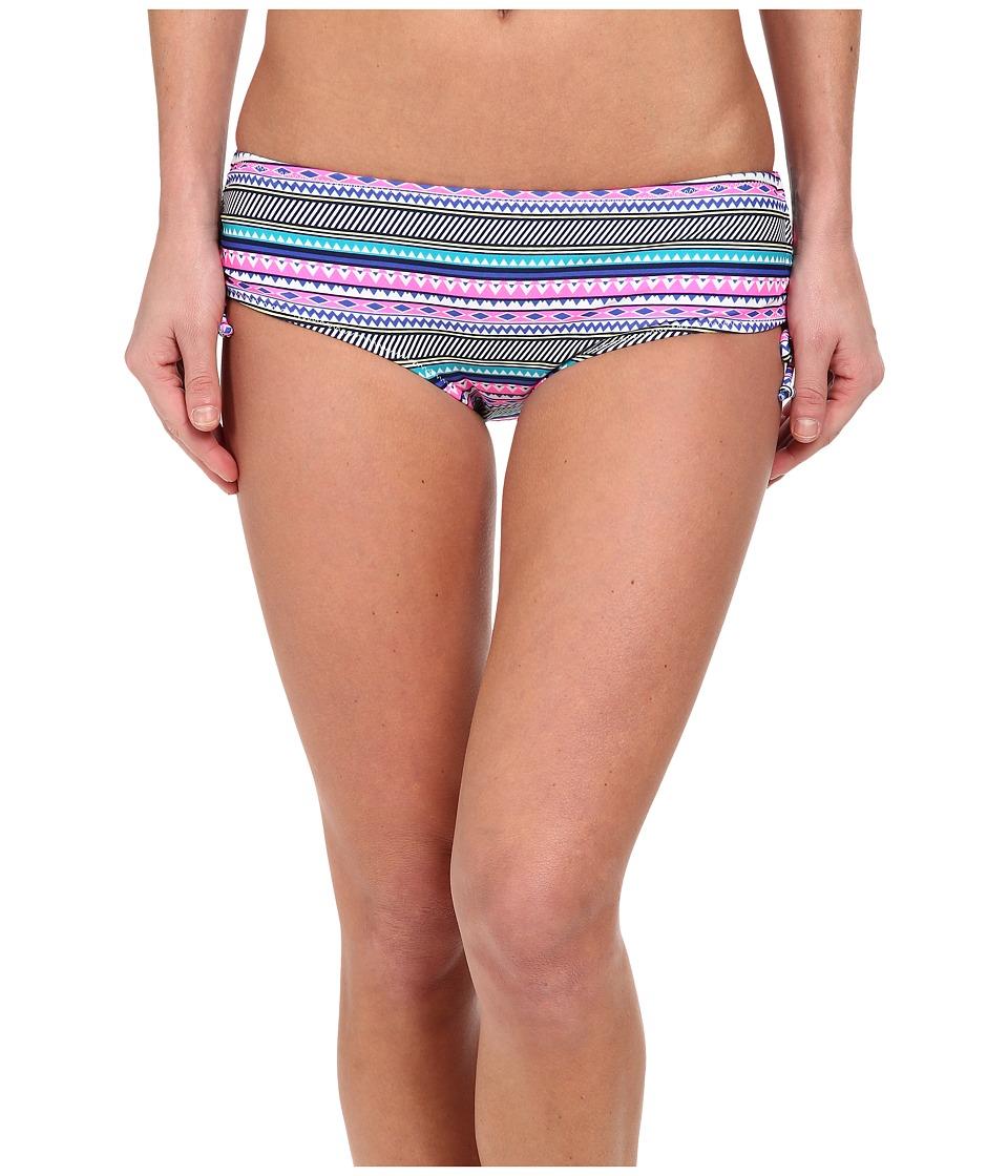 Gabriella Rocha - Artemis Hipster (Ocean Blue Geometric) Women's Swimwear