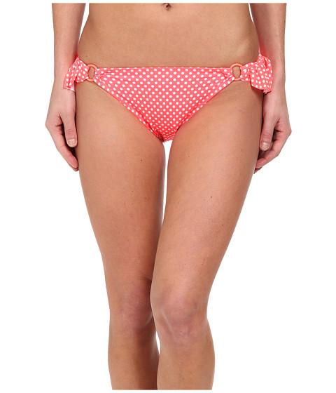 Gabriella Rocha - Hemera Bikini Brief (Neon Coral Dot) Women