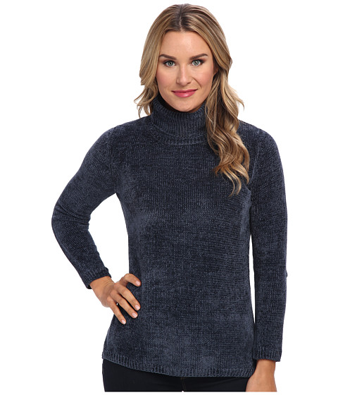 525 america - Heritage Turtle Neck - Chenille (Steel/Stealth Gray/Stealth Gray) Women
