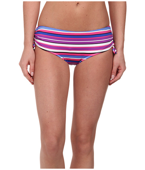Gabriella Rocha - Bellona Hipster (Bright Pink Stripe) Women's Swimwear