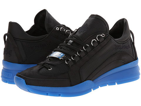 DSQUARED2 - 551 Sneaker (Black/Blue) Men's Shoes