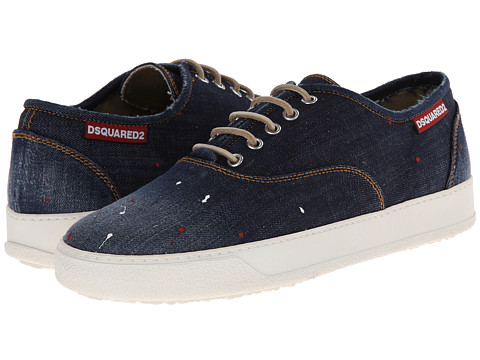 DSQUARED2 - Pollack Sneaker (Navy) Men's Shoes